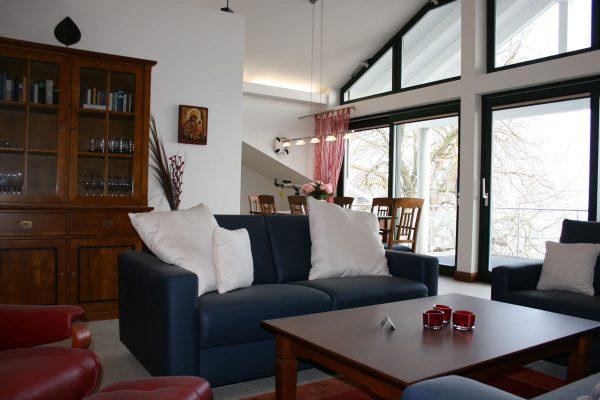 Modern eingerichtete Ferienwohnungen der Rügen-Star Appartements in Sassnitz auf der Insel Rügen.